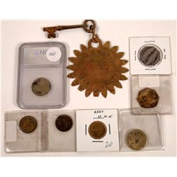 Beckers Tokens and Key Tag  [128321]
