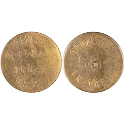 Francovich Wine House Token  [129296]