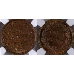 Civil War Token: D. L. Wing  [129212]