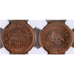 Civil War Token: Tradesmens Currency  [129189]
