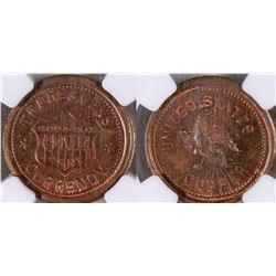Civil War Token: Tradesmens Currency  [129189]