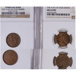 Civil War Tokens: Flag Of Our Union  [129186]