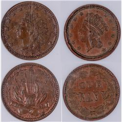 Civil War Tokens: Indian Head  [129172]