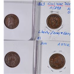 Civil War Tokens: Liberty/No Slavery  [129168]