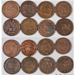 Union Civil War Store Card Tokens  [129129]