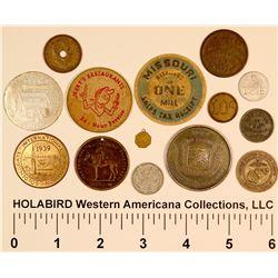 Eclectic U.S. Token/Medal Group  [124414]