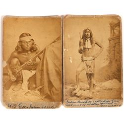Apache Medal of Honor Winners & Apache Scouts; & Male w/ Carbine