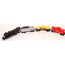 Shell Oil Loco and Four Cars. [129900]