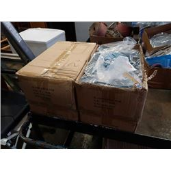 Four boxes of 2in clevis hangers