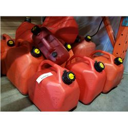 LOT OF JERRY CANS