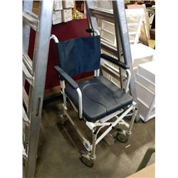 INVACARE BCMEDEQUIP ROLLING CHAIR WITH LOCKING WHEELS