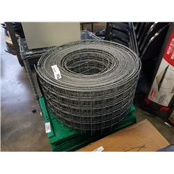 "Roll of 12"" wide mesh fencing"