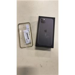 Apple iPhone 11 Pro Max, 64gb space grey with original box and new accessories, clear case, clean im