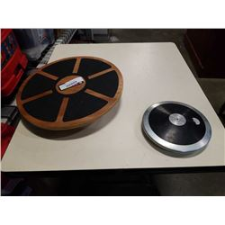 2KG DISCUS AND BALANCE BOARD