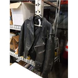 REAL LEATHER SIZE 46 JACKET