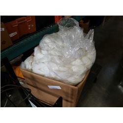 Box of new zealand white wool yarn