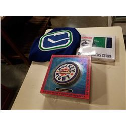 CANUCKS JERSEY, SCARF AND HOCKEY NIGHT IN CANADA GAME