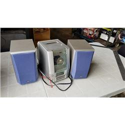 JVC FS-310 bookshelf stereo