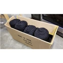 Box of new zealand black wool yarn