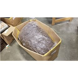 Box of new zealand brown wool yarn