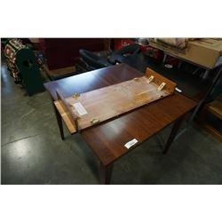 """ETHAN ALLEN DINING TABLE WITH LEAF 52"""" x 38"""" x 30'H (W/ 14"""" LEAF)"""