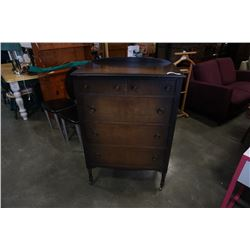 RESTMORE VANCOUVER ANTIQUE 5 DRAWER CHEST OF DRAWERS