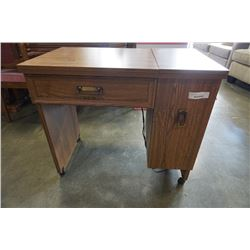 KENMORE SEWING MACHINE IN TABLE