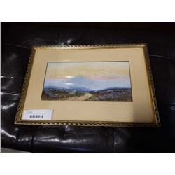 FRAMED WATER COLOUR SIGNED H.R. WOOSTER