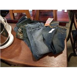 F&2, SECONDA ME AND URBAN STAR JEANS - SIZE M,  40 AND OTHER
