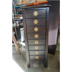 8 DRAWER PIER 1 IMPORTS TALL CHEST OF DRAWERS