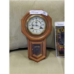 VINTAGE WESTMINISTER WALL CLOCK W/ PENDULUM