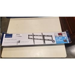 NEW OVERSTOCK 47-80 INCH TILTING TV WALL MOUNT 120LB CAPACITY