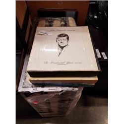 LOT OF RECORDS - ENRICO CARUSO, JFK SPEECHES, SOVIET ARMY CHORUS AND BAND