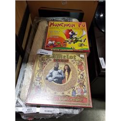 2 NEW BOARD GAMES - MUNCHKIN FU AND CAMELOT THE COURT