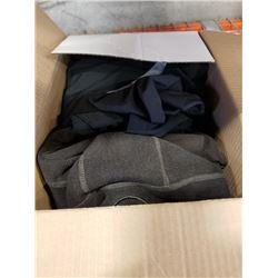 BOX OF LULULEMON CLOTHING VARIOUS SIZES