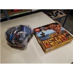 LEGO SET MODEL 70904 AND BAG OF LEGO
