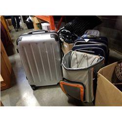 LARGE HARD CASE LUGGAGE BAG, COOLER BAG AND LUGGAGE BAG
