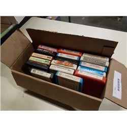 BOX OF 8 TRACKS