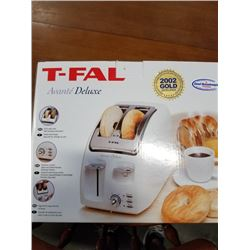 NEW TFAL DELUXE TOASTER