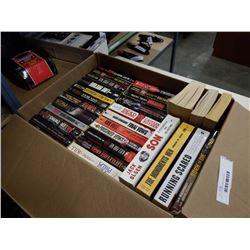 BOX OF TRUE CRIME NOVELS