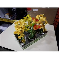 LOT OF ARTIFICIAL ORCHIDS