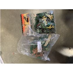 LOT OF ARMY MEN FIGURES - 4 INCH GREENBRIER INTERNATIONAL AND OTHER