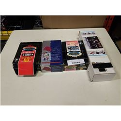4 BOXES COLLECTABLE SPORTS CARDS