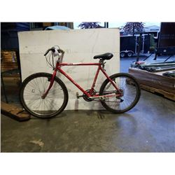 RED RALEIGH BIKE