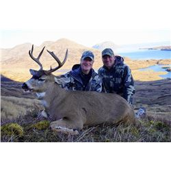 Kodiak Island Sitka Deer hunt for 4