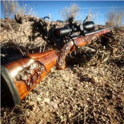 Howa 1500 in 300 Win Mag Hand Engraved by Nevada Grassie