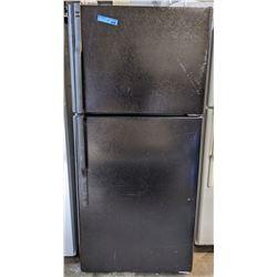 Black Hotpoint refrigerator