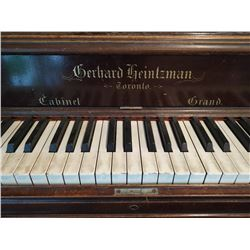 1870s Antique Gerhard Heintzman Piano
