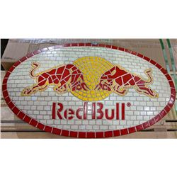 "Red Bull holy resin sign 28"" x 16"""
