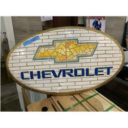 Chevrolet wall hanging plaque